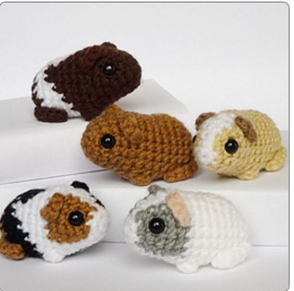 Learn to crochet adorable 'Amigumuri' with 17 coveted patterns and a how-to video