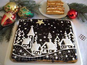 Miodownik świąteczny - CICHA NOC
