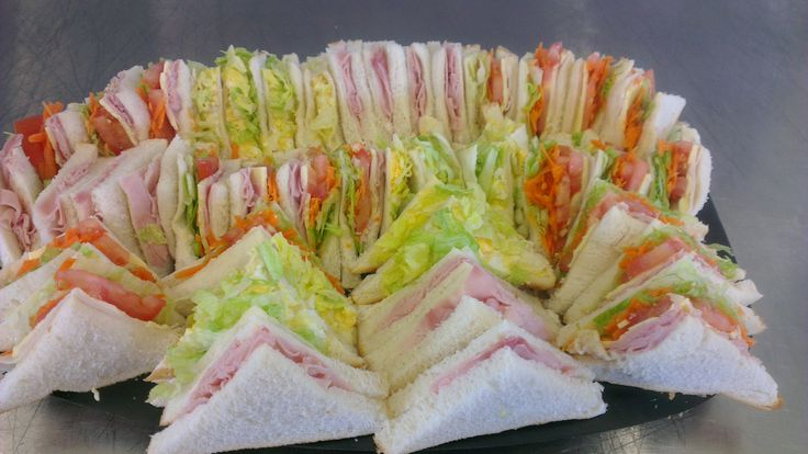 Mixed sandwich Platter Small or Large Platter Ham,Shaved Ham and Salad,Shaved Chicken and salad and Egg/lettuce