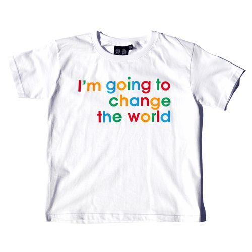'Change the World' Children's T-Shirt
