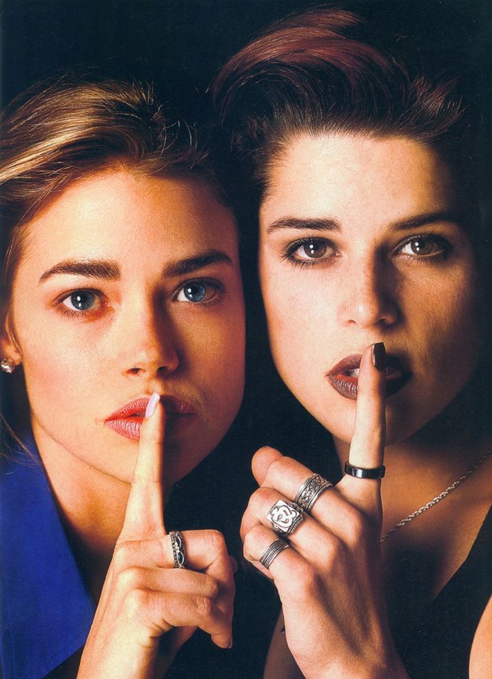 Denise Richards & Neve Campbell                                                                                                                                                     More