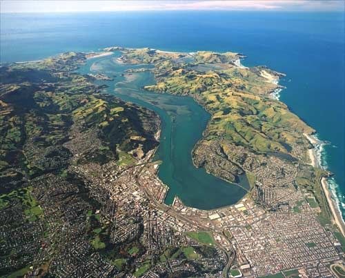 Dunedin is a small city in New Zealand, one of the most southern cities in the world.
