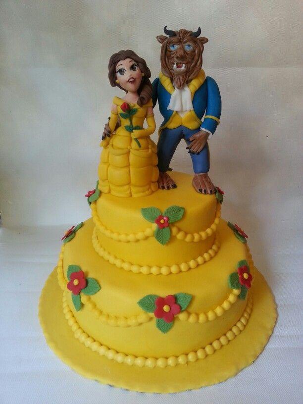Bella Cake Art Facebook : la bella e la bestia cake My cakes debora Ugolini ...