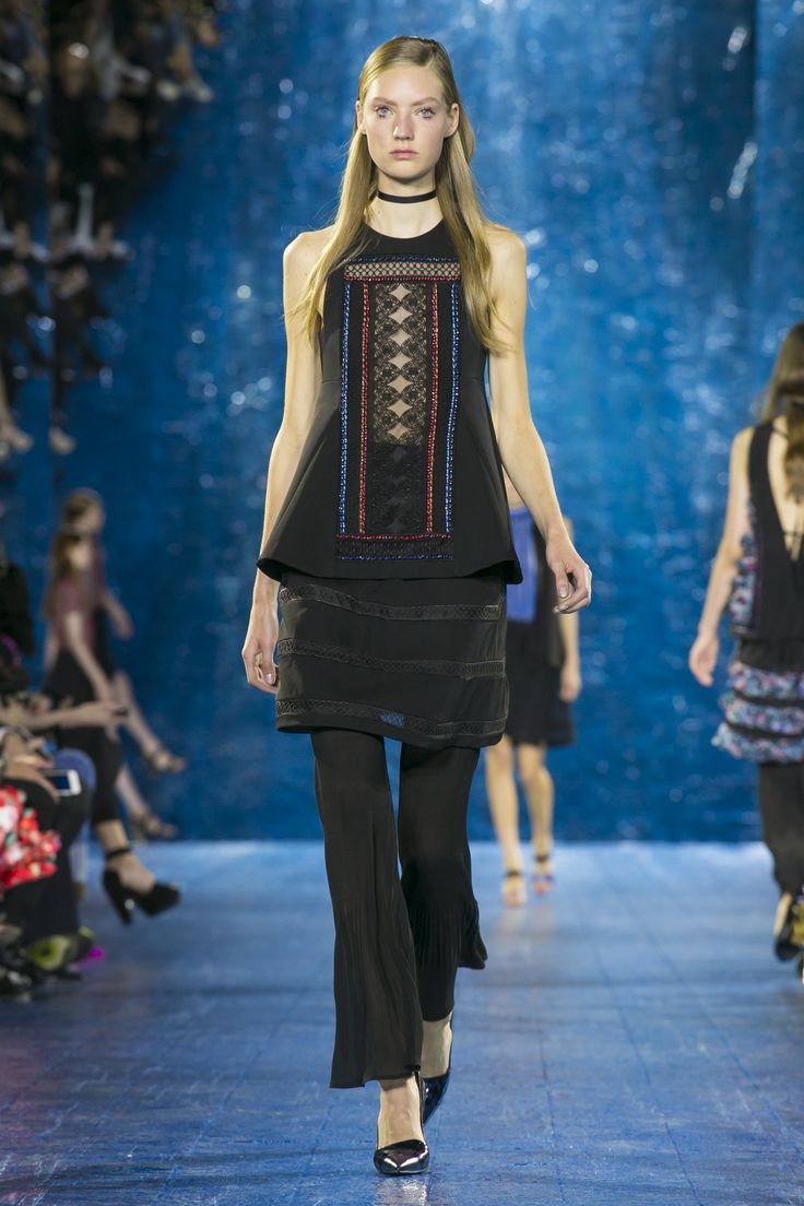 Look 30. Archangel Top, Pomeroy Skirt & Byck Pleated Trouser