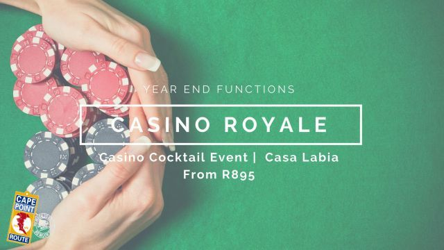 An over-the-top experience of a life time!  Dress the part, order the Martini, and Play to Win!  An evening of glamour, thrill and fortune…at the enchanting Casa Labia our very own Venetian Palace. No of persons: Min 50   Max 100
