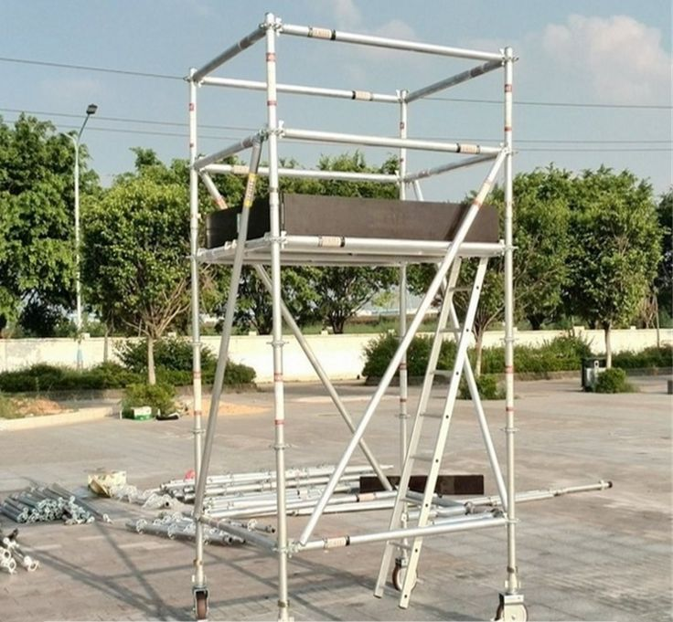 removable scaffolding aluminium tower for hot sale