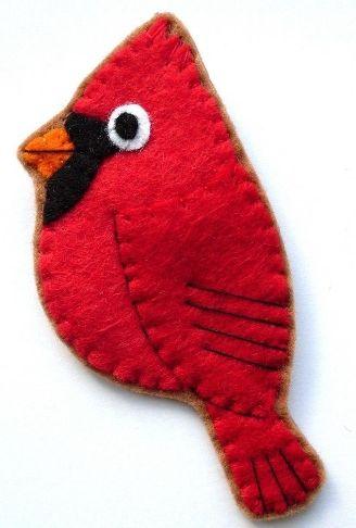 felt cardinal