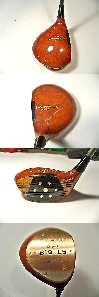 Vintage Golf Clubs and Shafts 83043: New Hiro Honma Super Big-Lb Vintage Persimmon Driver 12.5* Rh R-1 Golf Club -> BUY IT NOW ONLY: $159 on eBay!