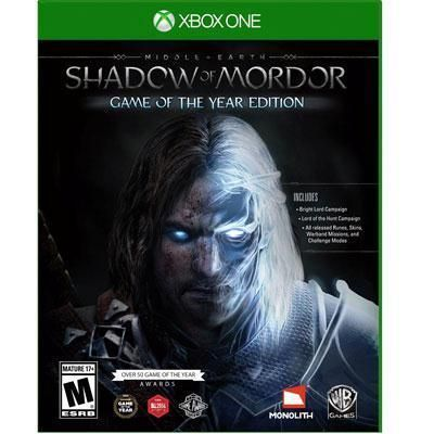 Warner Brothers - ME Shadow of Mordor GOTY XOne