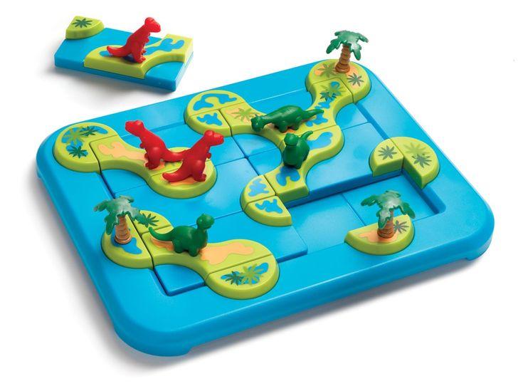 Mamaatje ik wil dit! Mega puzzelplezier van SmartGames! Blijf geconcentreerd en herbeleef het Jura-tijdperk.