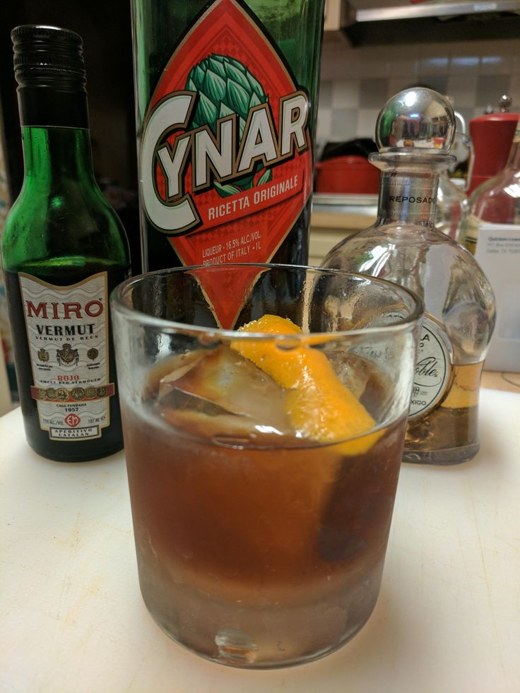 Persistent Vegetative State--Negroni riff #cocktails #drinks #HappyHour #food #sun #lunch #bar #London
