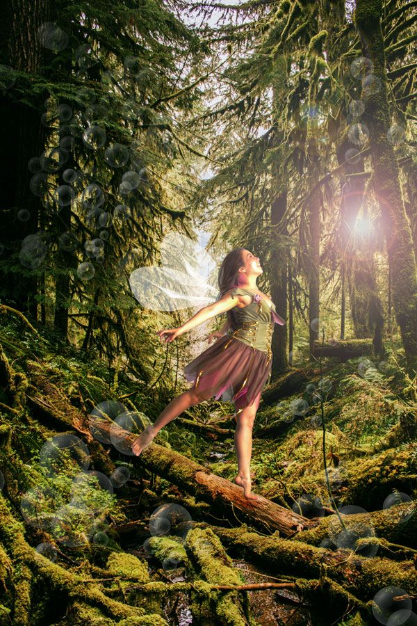 MAKING OF: FAIRY IN MAGICAL FOREST