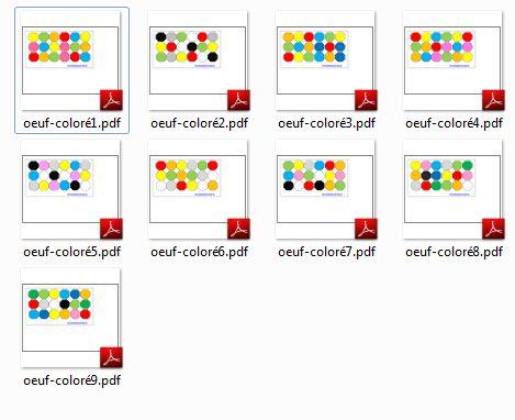 Apprendre les couleurs PDF à imprimer