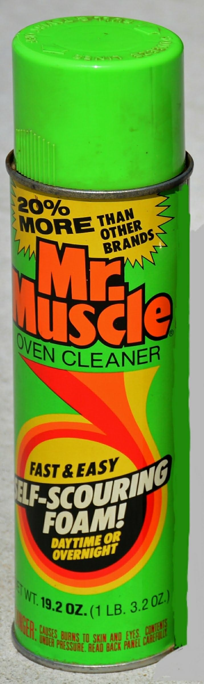 Mr Muscle Oven Cleaner can (1985)