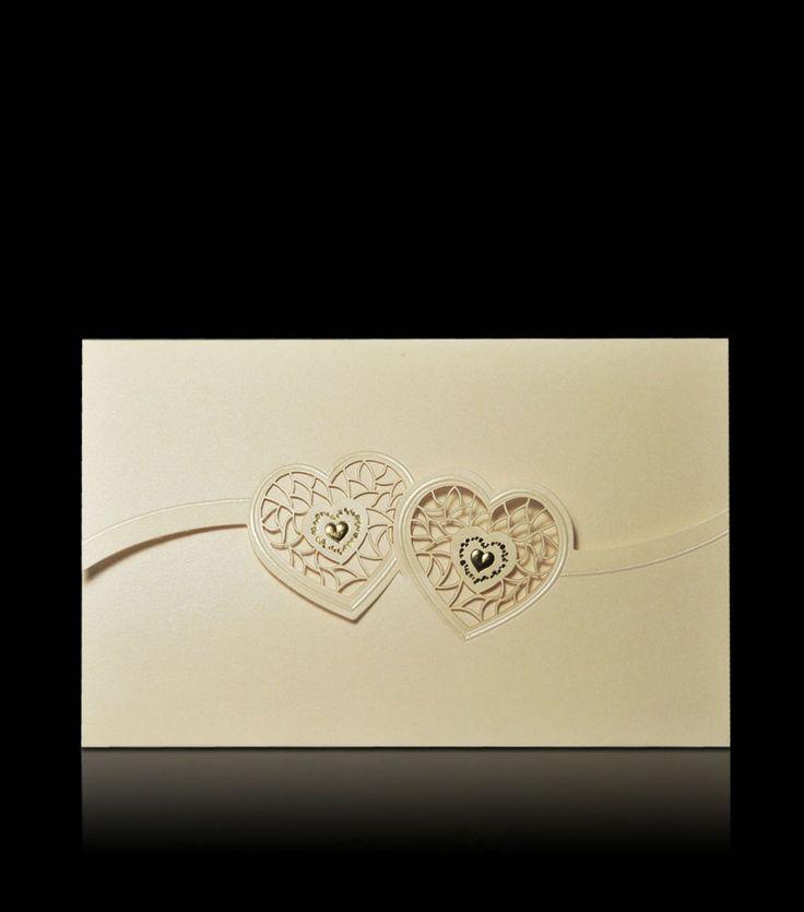 Svatební oznámení D 5801 - Luxusní svatební oznámení