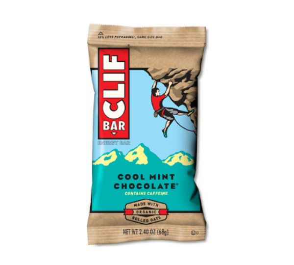 Energy bars for the trails - best flavor ever! Makes for great snacks for hiking, backpacking, or camping. Pack it in your backpack for travel! It's even made with organic rolled oats and green tea. This is the cool mint chocolate flavor of a clif bar. Find it at your grocery store to give it a try!