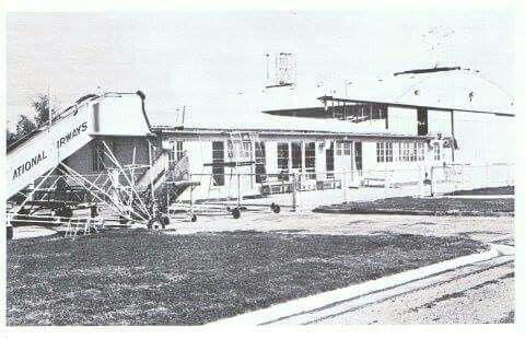 Canberra Airport Terminal prior to 1965.