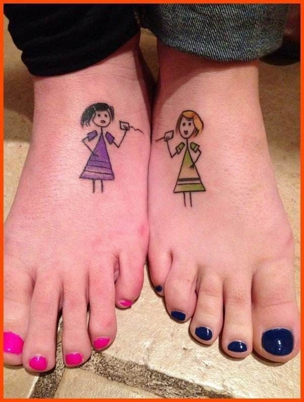 17 beste afbeeldingen over sister tattoos op pinterest for Tattoos for sisters with meaning