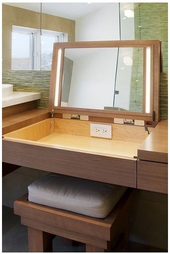 Free Makeup Vanity Woodworking Plans Woodworking