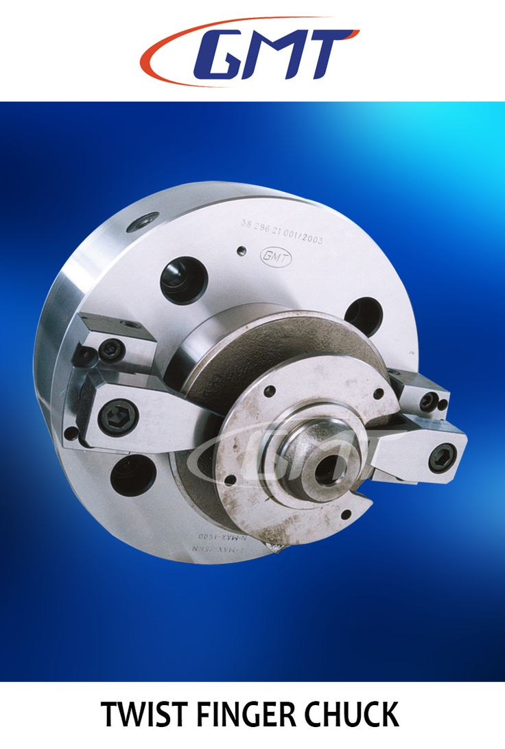 GMT Twist Finger Chuck is ideal for clamping the component on face with centralized location, where clamping on OD/ID facilities are not possible.