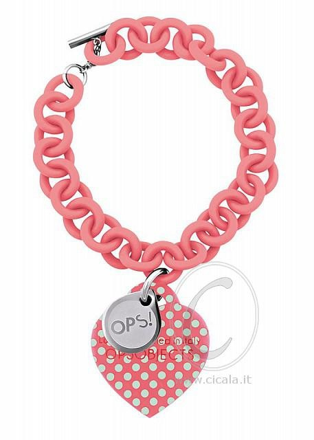 ❤ OPS! Bracelet ❤ @ only €36,00 Register NOW on www.cicala.it for discount! Pink color!