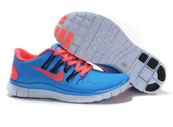 detailed look 630da 73b11 New Nike Free Running Blue Rose Green
