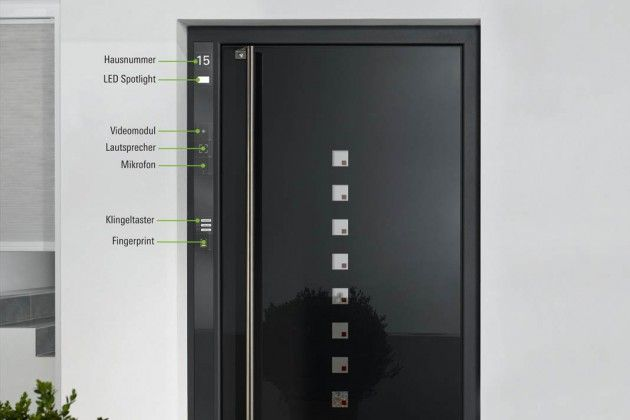 sch co door control system smarthome sicherheit haustuer foto sch co smart home pinterest. Black Bedroom Furniture Sets. Home Design Ideas