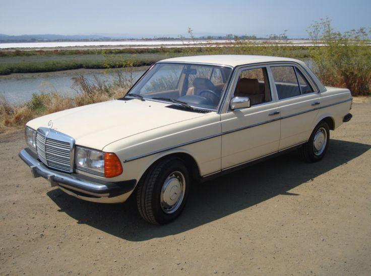 No Reserve: Euro 1984 Mercedes-Benz 240D 5-Speed