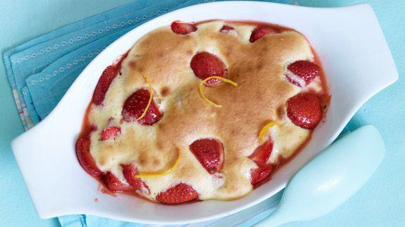Erdbeeren in Pfannkuchenteig: Rezept auf for me