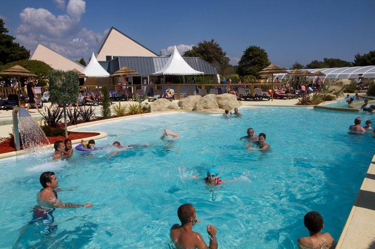 Espace aquatique extérieur  #camping #camping5etoiles #vacancesbretagne #paysbigouden #bretagne #oceanbreton