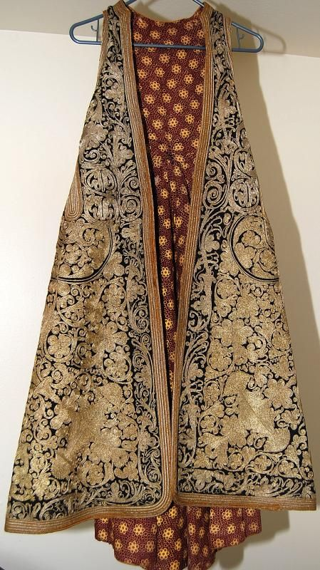 Albanian pirpiri ( robe ) from Gramsh, Albania made in the 19th century