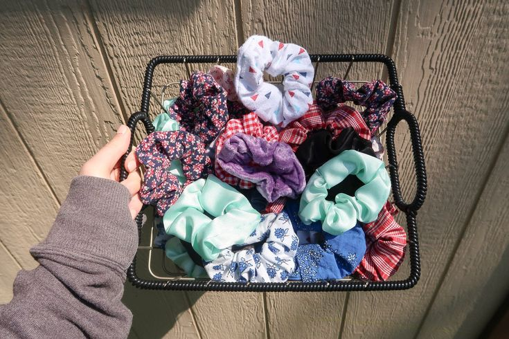 Upcycled Handmade Scrunchies Mystery Pack – 2 Scrunchies