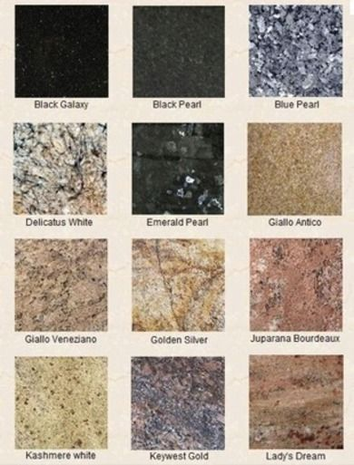 38 Best Granite Colors Images On Pinterest