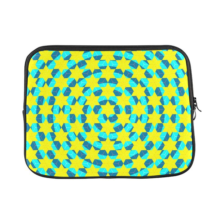 colorful spiral and cubes #Laptop Sleeve 11 #vibrant #Artsadd