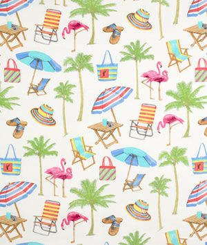 Swavelle / Mill Creek Outdoor Sunny Isle Carousel Fabric