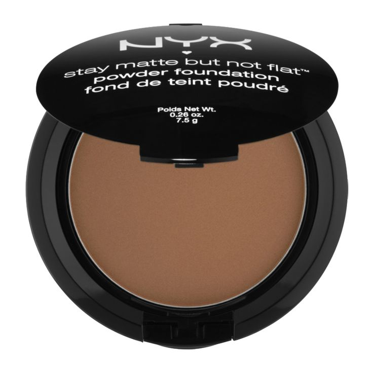 The Best Drugstore Powder Foundations Under $20 - NYX Stay Matte But Not Flat Powder Foundation from InStyle.com