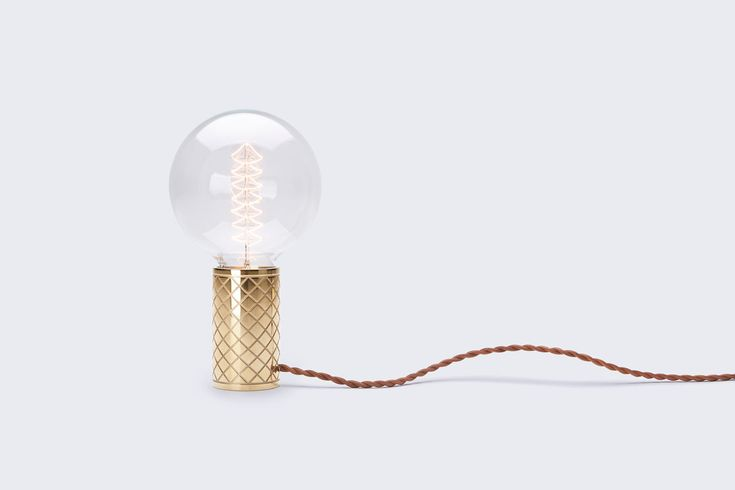A Minimalist Lamp Inspired by a Bulb