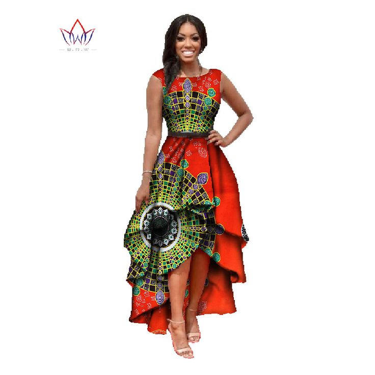 african clothes for women  o neck african embroidery bazin dress Dashiki women dress cotton african print dress big size WY447-in Dresses from Women's Clothing & Accessories on Aliexpress.com | Alibaba Group