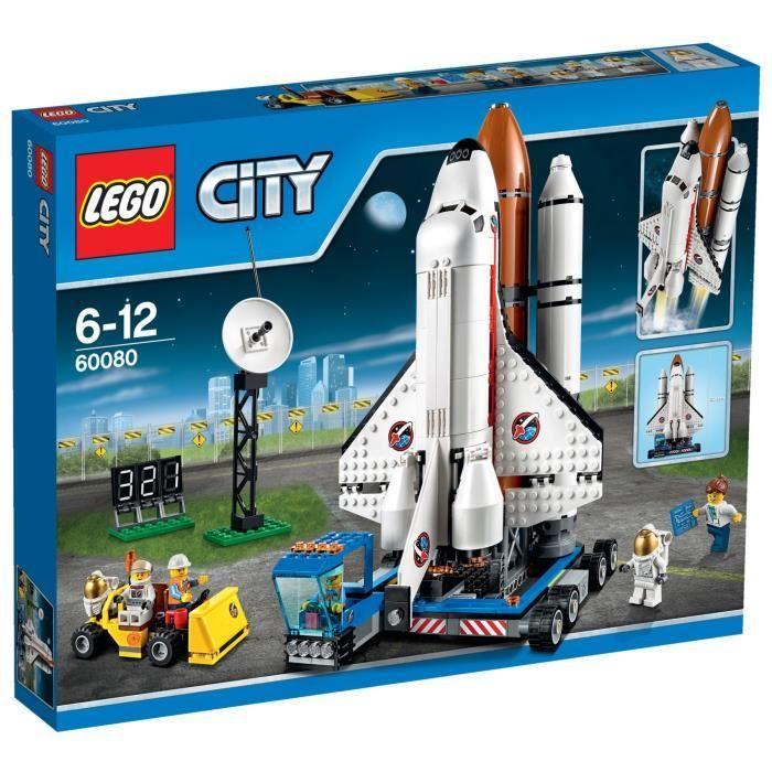 LEGO City 60080 Le Centre Spatial  - Garçon  - A partir de 6 ans  - Livré à l'unité