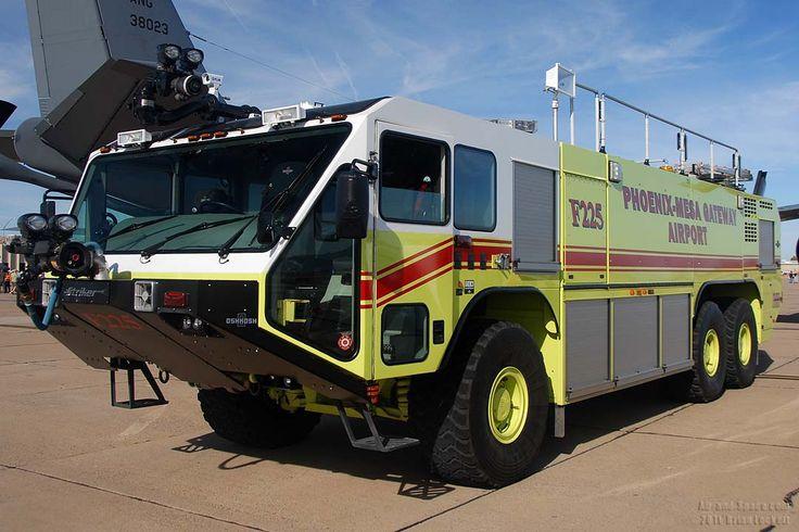 Dsc 2154 Fire Truck F225 Phoenix Mesa Gateway Airport Left
