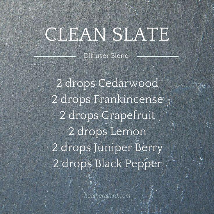 clean slate diffuser blend