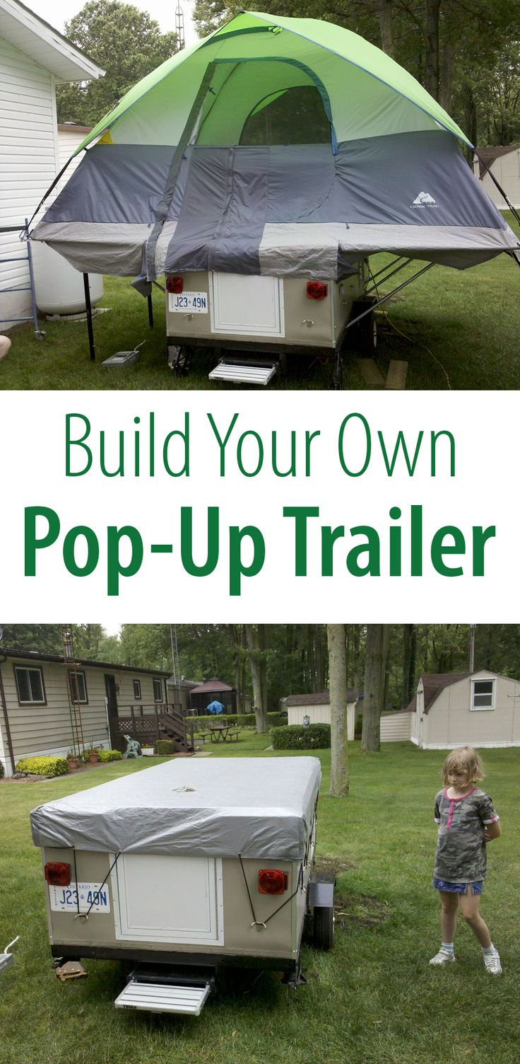 build your own pop up trailer utility trailer the o. Black Bedroom Furniture Sets. Home Design Ideas