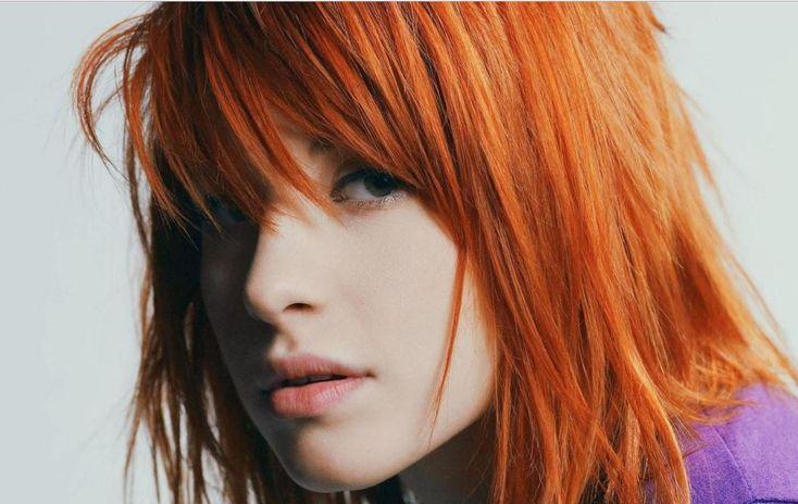 Kızıl saç rengi tonları dip boyaması