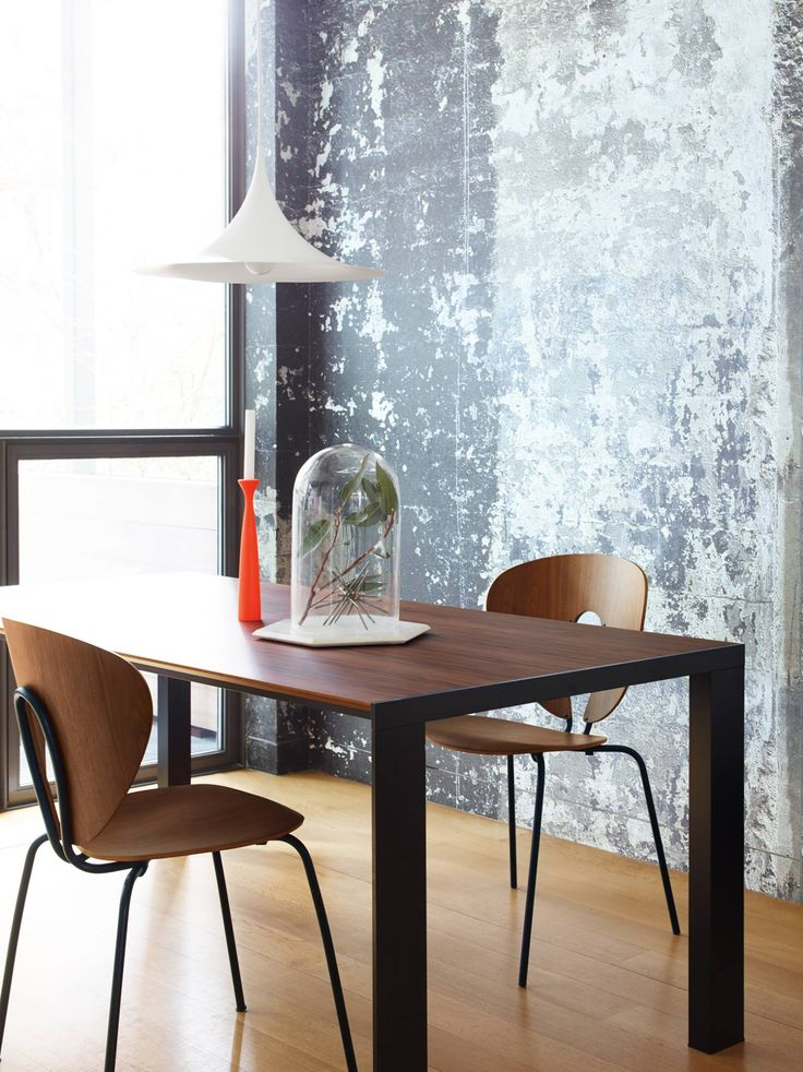 Love This Dining Room With STUA Deneb Table And Globus Chair In The Elegant Black