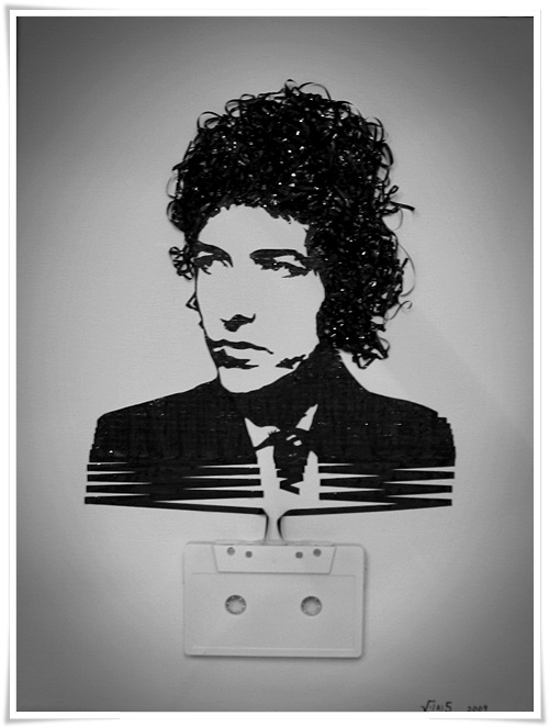 tape Bob DylanDylan O'Brien, Music, Cassette Tape, Bob Dylan, Tape Art, Bobs Dylan, Iris, Portraits, Bobdylan