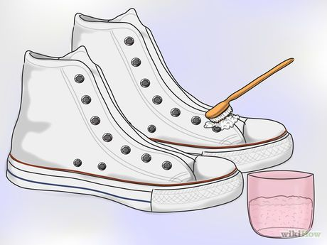 how to clean white vans with baking soda