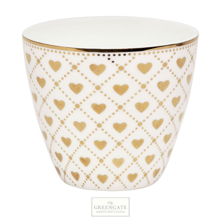 Greengate latte cup Haven gold AW15