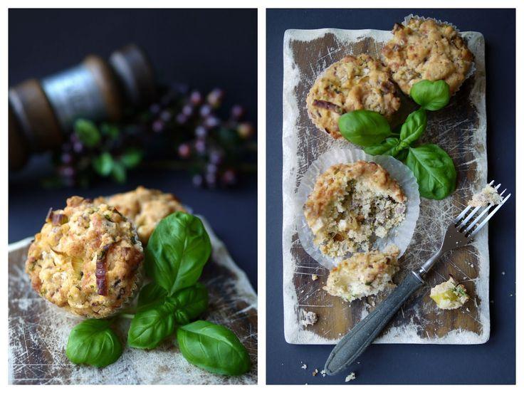 Experimente aus meiner Küche: Lauch-Speck-Muffins