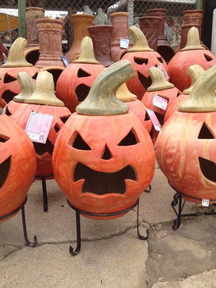Halloween Chiminea