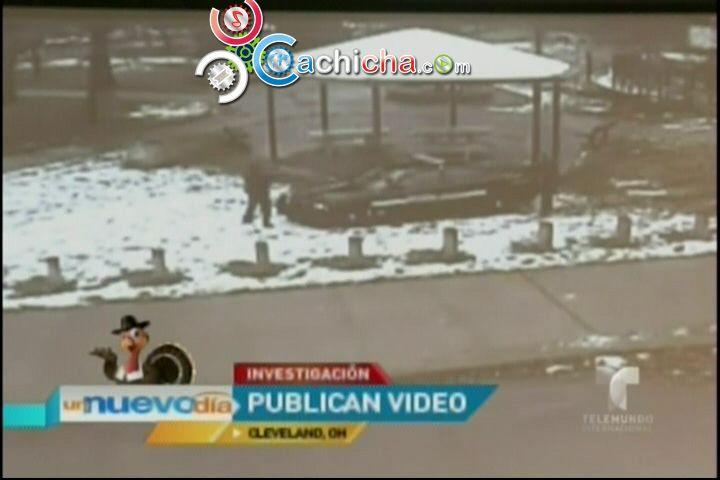 Imágenes De Policía Baleando A Niño Con Pistola De Juguete #Video